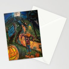 At the stroke of Halloween Stationery Cards