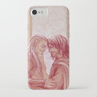 aragorn iPhone & iPod Cases featuring Respite by silvertales