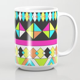 Geometric Bright Stripe Coffee Mug
