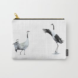 Dance of Cranes Carry-All Pouch