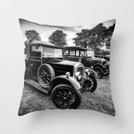 Wolseley Classic Car Throw Pillow