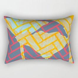Treading Nature Rectangular Pillow