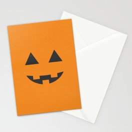 Jack-o'-lantern Stationery Cards