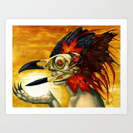 Raptor: Corvus Art Print