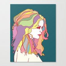 Big Hair day Canvas Print