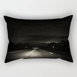 The Long Road Home Rectangular Pillow