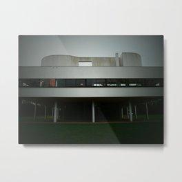 Villa Savoye  Metal Print