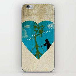cultivating peace iPhone Skin