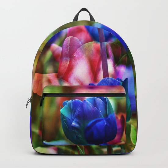 A Floral Dream of Spring Backpack