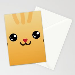 Children imaginary furry friend GINO THE CAT (Chibi Palz cute companion) Stationery Cards