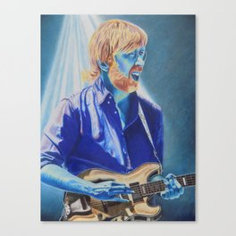 Trey Anastasio in Blue Canvas Print