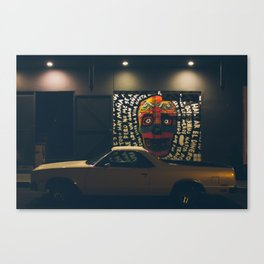 California El Camino Canvas Print