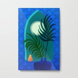 Gothic Tropics / Tropical Night Series #6 Metal Print