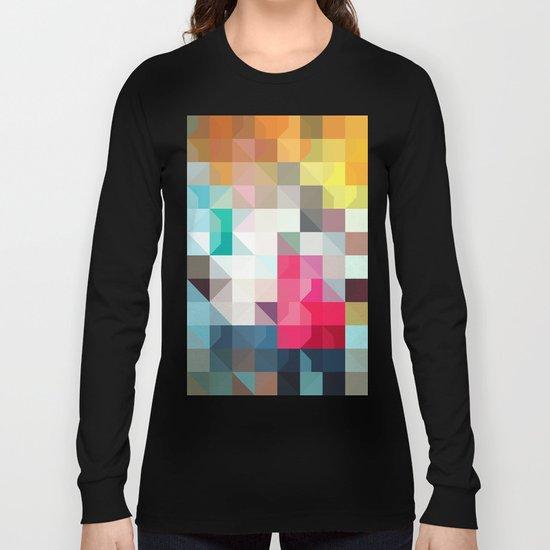 color story - pixelated warfare Long Sleeve T-shirt