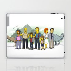 Jurassic World Simpsonized Laptop & iPad Skin