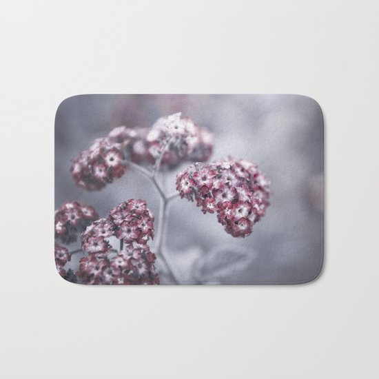 selfless, cold and composed Bath Mat