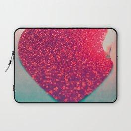 Burning love Laptop Sleeve