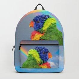 Rainbow Lorikeet Backpack