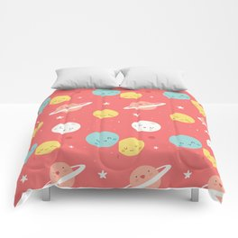 Modern Star Space Pattern Comforters