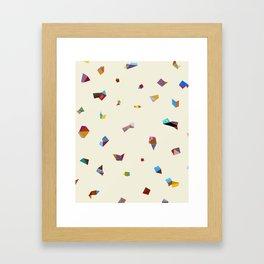 Geometric Midsumma Framed Art Print