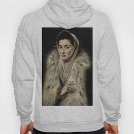 El Greco – Lady in a Fur Wrap Hoody