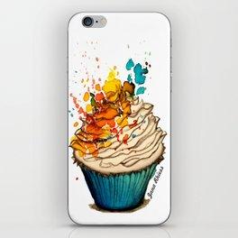 Cup Cake Grafite iPhone Skin