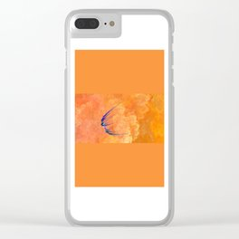 on the journey   (A7 B0008) Clear iPhone Case