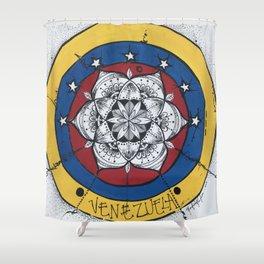 Venezuela Libre Shower Curtain