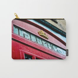 Telephone Booth Carry-All Pouch