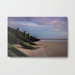 A Calming Beach Metal Print