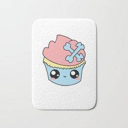 Cupcake Skull Bath Mat
