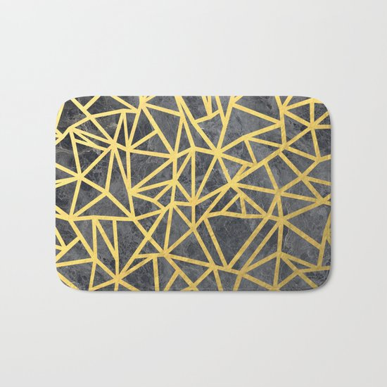 Ab Marb Gold Bath Mat