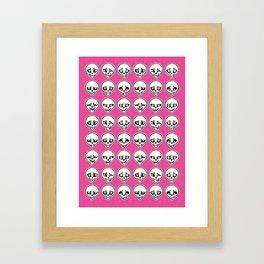 Skull Feels Framed Art Print