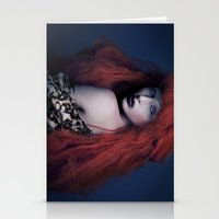 brave Stationery Cards featuring Brave by Imustbedead