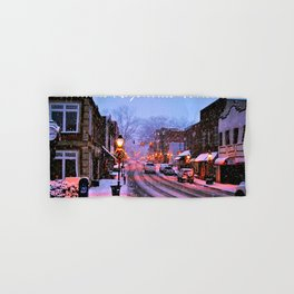 Historic Rogersville Tennessee In Winter Hand & Bath Towel