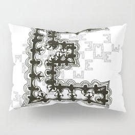 Color Me E Pillow Sham