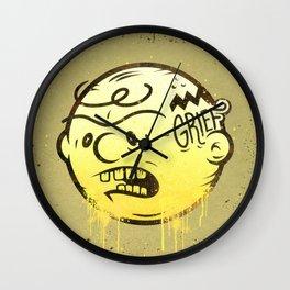 Grief Wall Clock