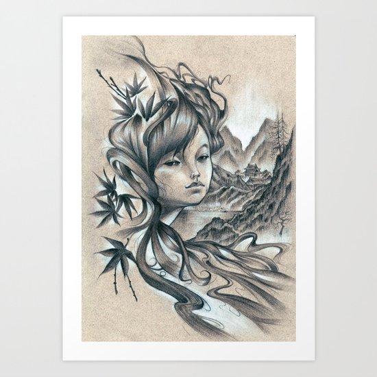 Nao-Ki Art Print