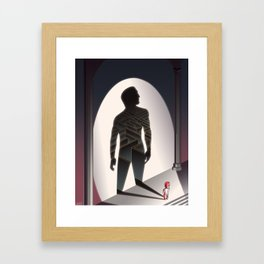 The Little Lion - WORDLESS Framed Art Print