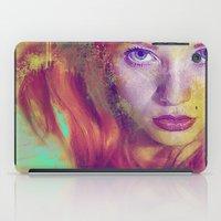 angel iPad Cases featuring Angel by Ganech joe