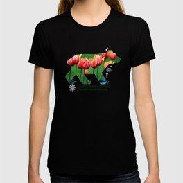 Berlin Bear - Tulips T-shirt