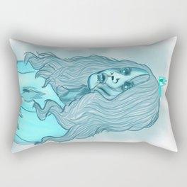Ghost Princess Rectangular Pillow