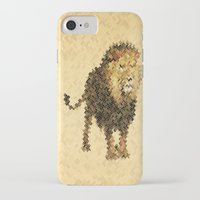 leo iPhone & iPod Cases featuring LEO by SensualPatterns