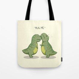 T-Rex Hugs Tote Bag