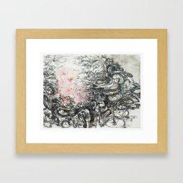 bomb c Framed Art Print