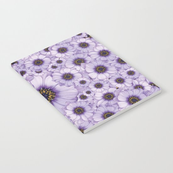 Daisy Pattern Notebook