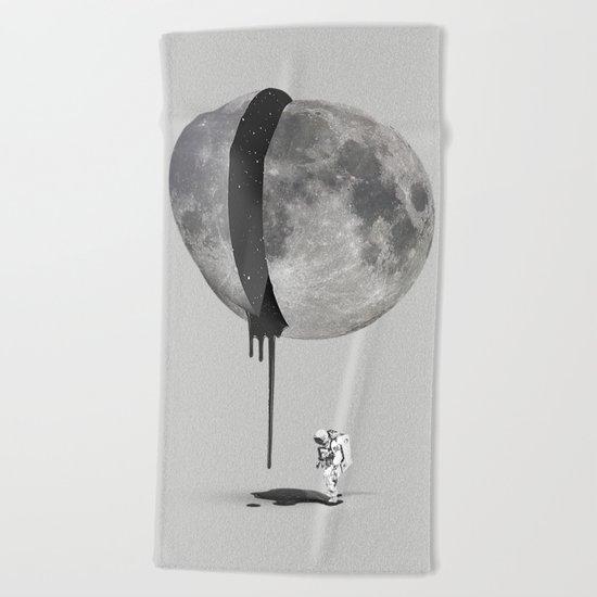 Bleeding Moon Beach Towel