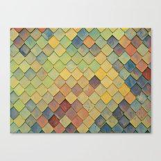 Dragon Scales Canvas Print