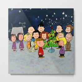 Christmas celebration children Metal Print