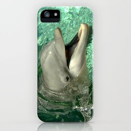Smiling Dolphin iPhone Case